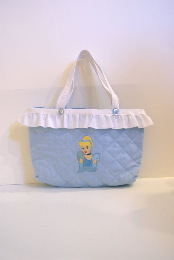 Cinderella Inspired Tote Bag on Etsy, $23.00