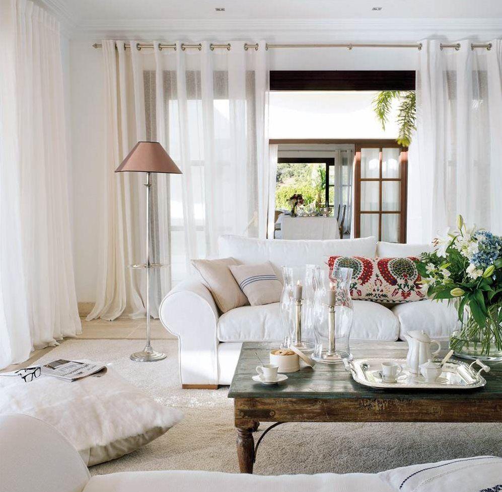 Qué color sienta mejor a tu casa? | Living room ideas, Living rooms ...