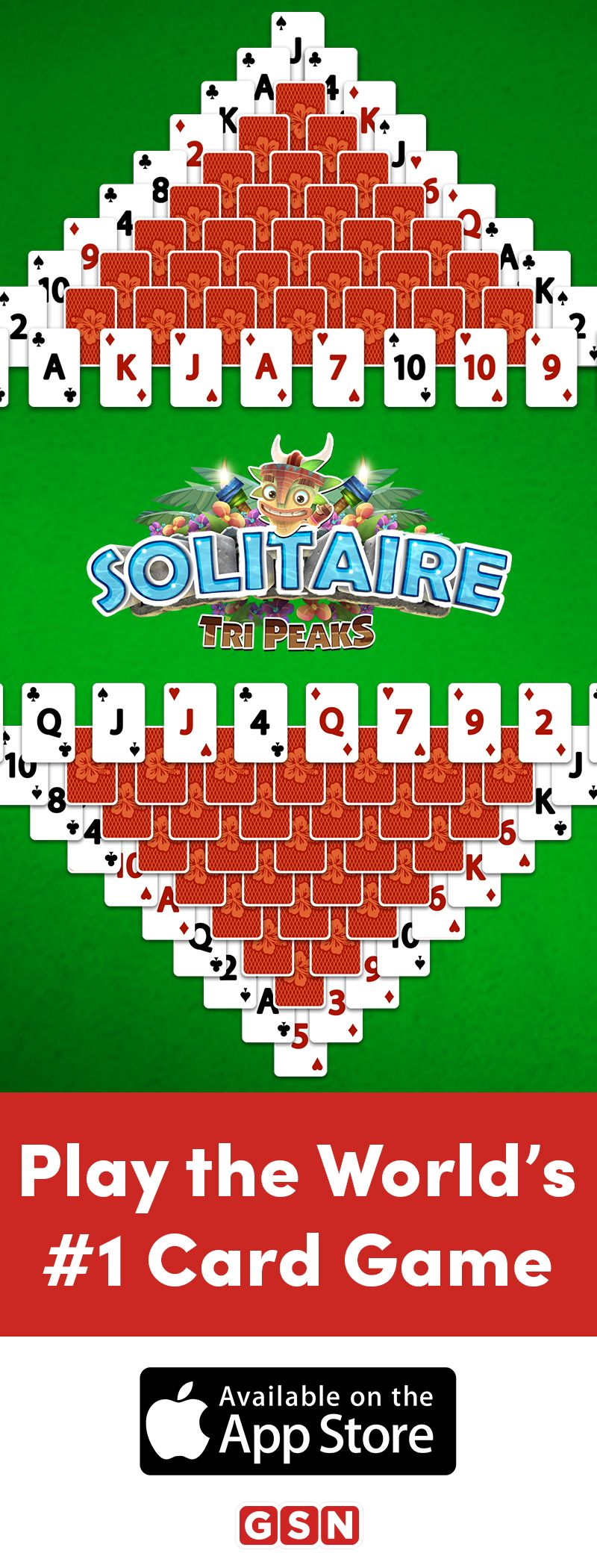 Play the hottest solitaire game around and download