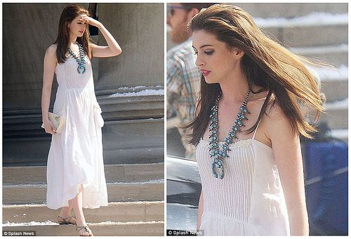66b1310fb633 Great outfit for summer - wearing squash blossom necklace | Street ...