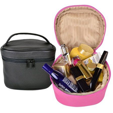 47e7cdabfc77 Royce Leather Zip Around Travel Cosmetic Bag in Genuine Leather ...