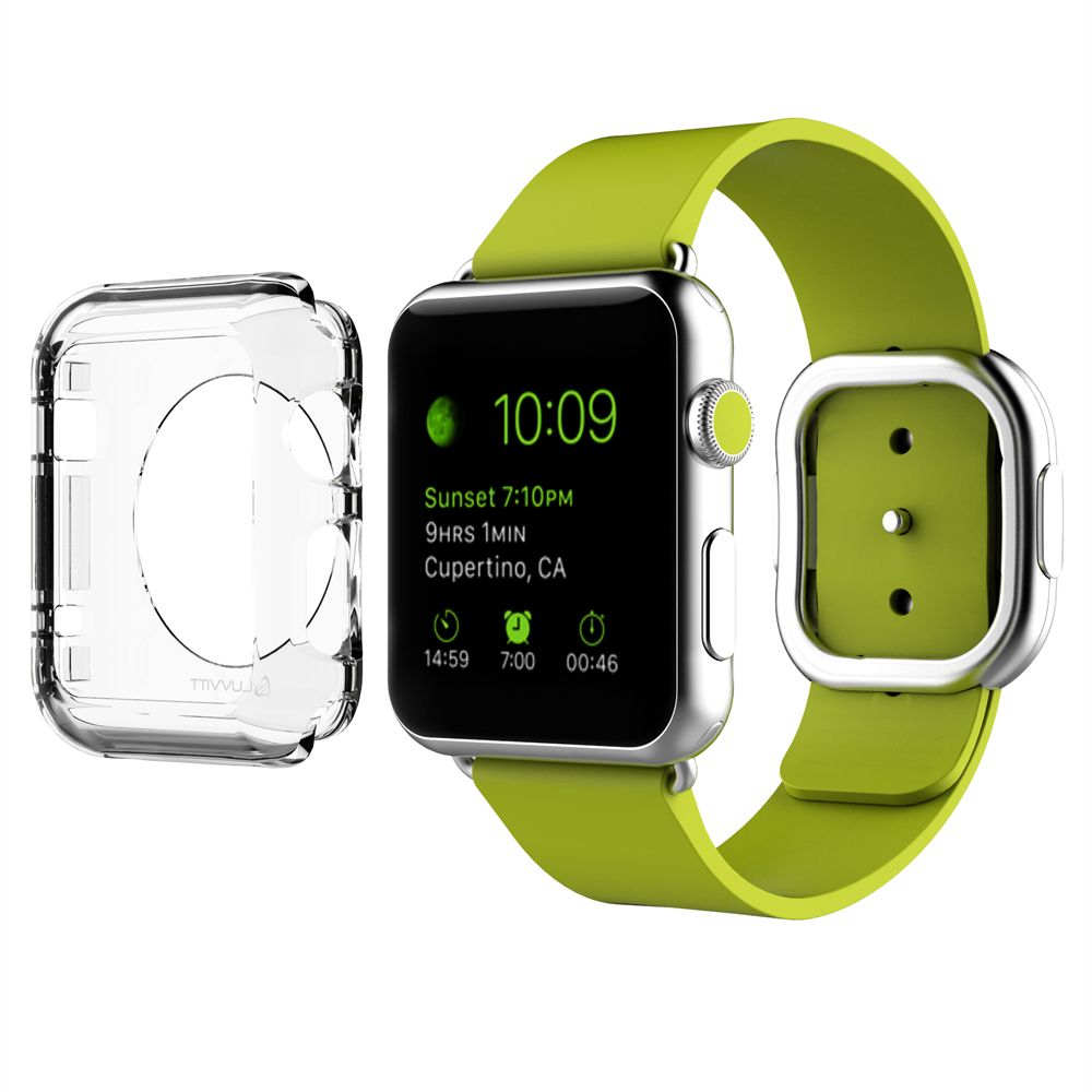 Image of LUVVITT CRISTAL Apple Watch Case 42mm - Crystal Clear