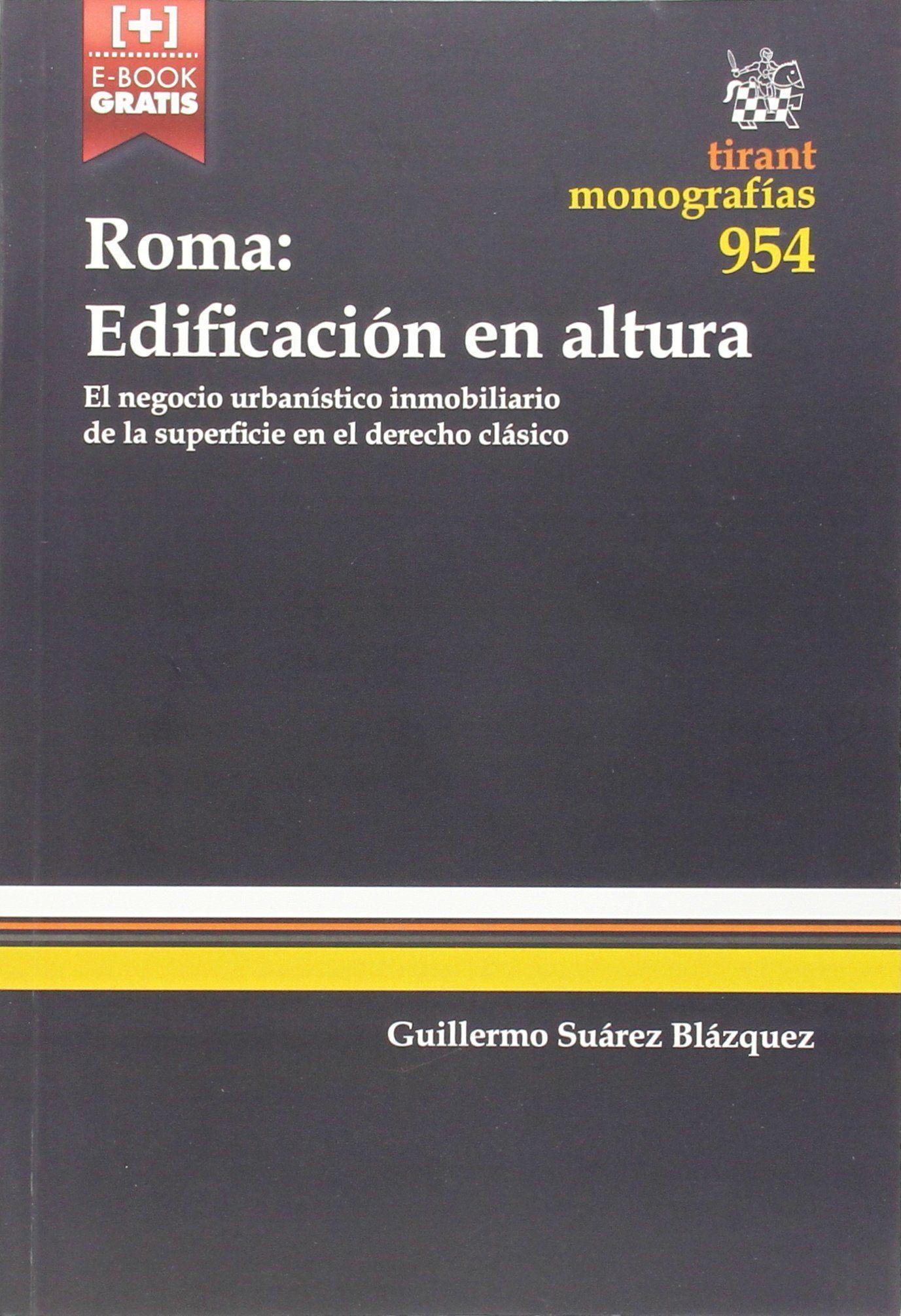 Roma Edificación en Altura Amazon.co.uk 9788490539408