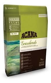 Acana 'Grasslands' dry cat food review. Determining the