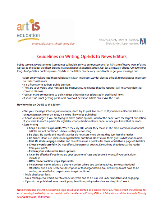 Guidelines For Writing A Press Release And Planning An Event