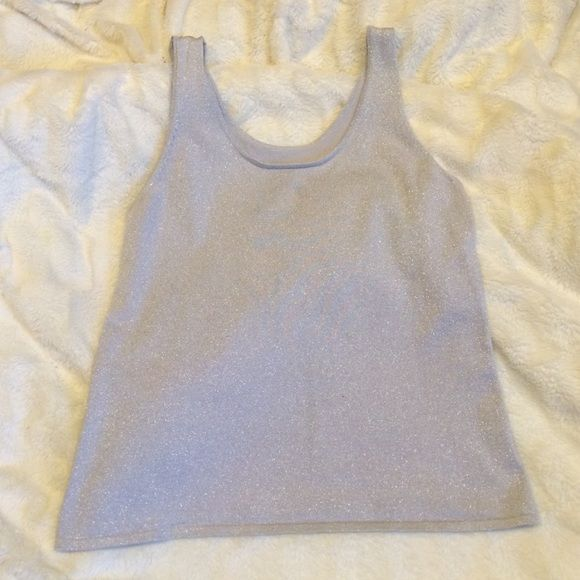 Chico's silver party top Perfect Chico's  top for any occasion  Chico's Tops Tank Tops