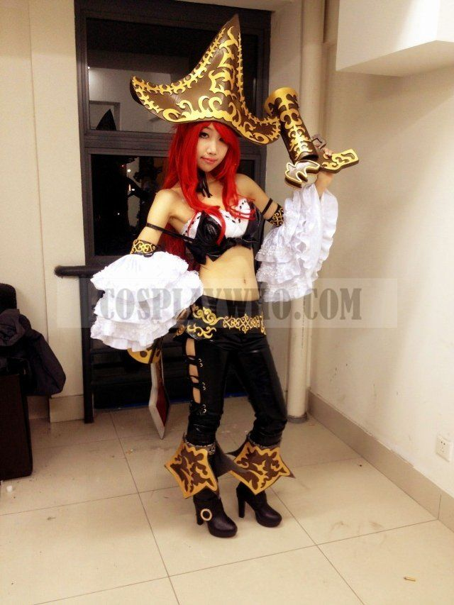 League of Legends Miss Fortune Cosplay Costume | Cosplaywho.com