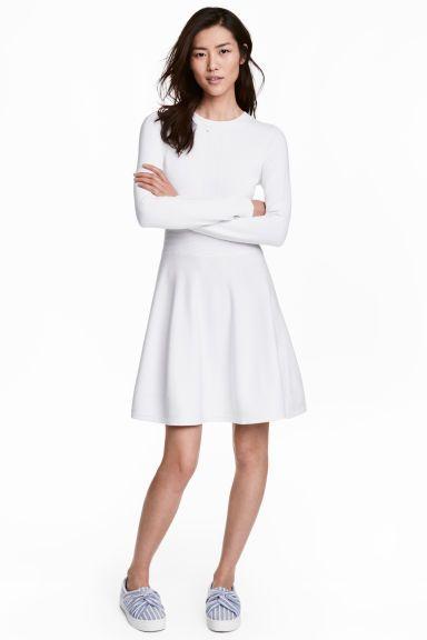 Neulemekko - Valkoinen - Ladies | H&M FI 1