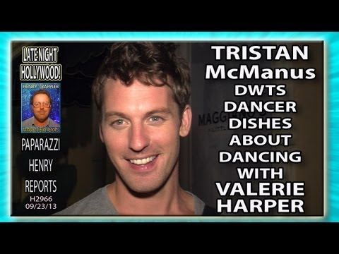 DWTS Tristan McManus chatted about dancing with Valerie Harper H2966