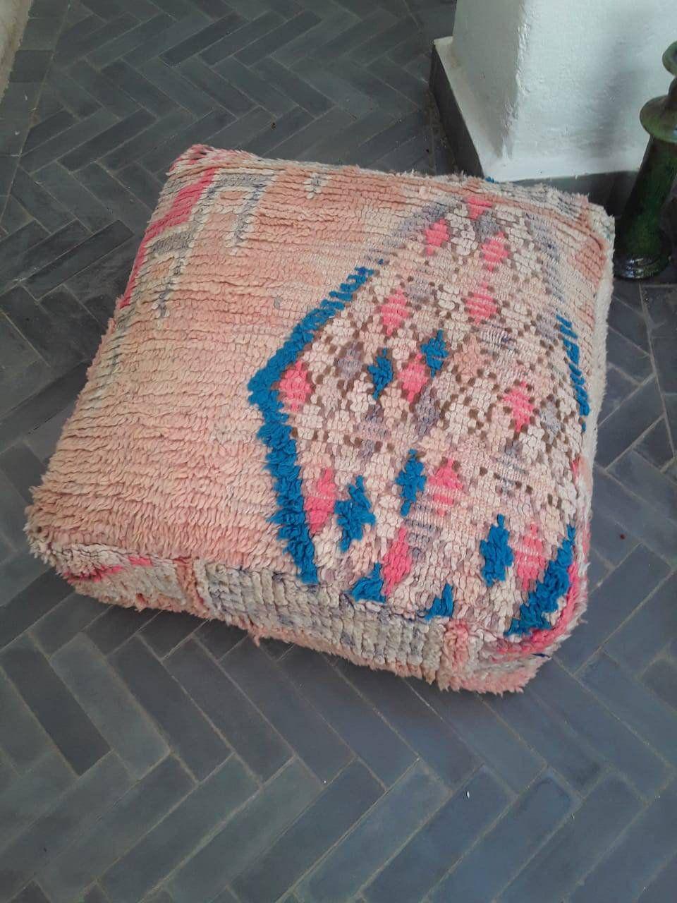 Moroccan cushion Floor, boujaad Cushion floor living room