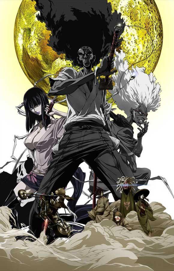 Afro Samurai Resurrection 11x17 Movie Poster (2009