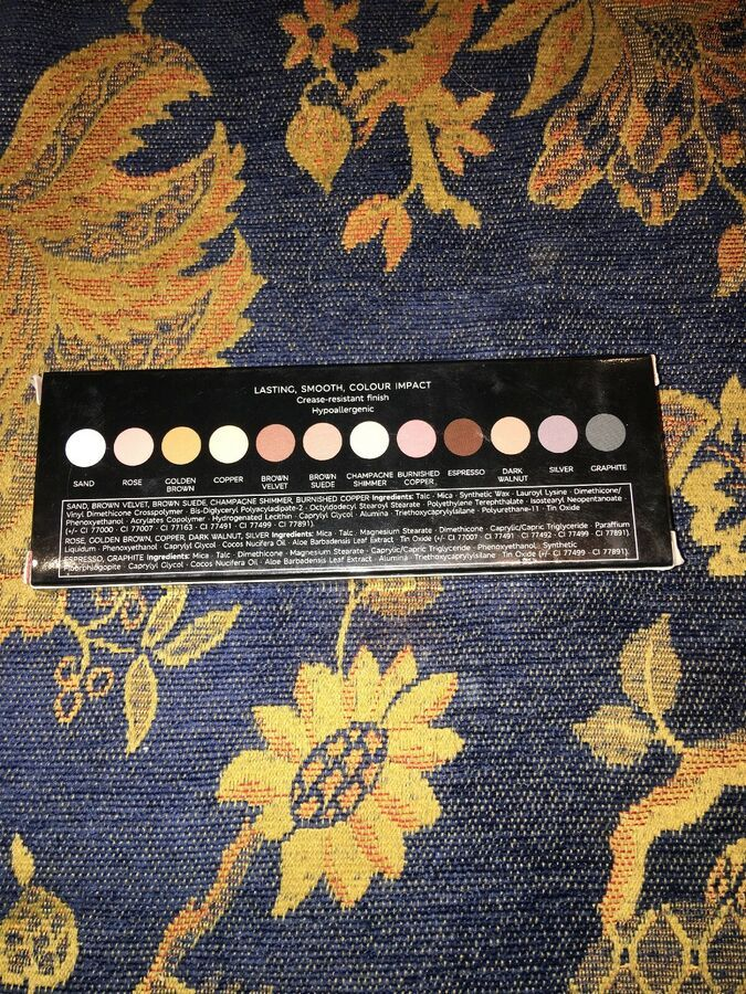 Autograph Colour Luxe Eyeshadow Palette New Sealed