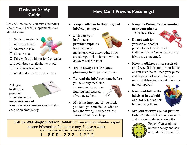 Wapc Medication Safety Brochure Page 2