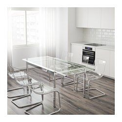 Ikea Us Furniture And Home Furnishings Ikea Dining Room Dining Room Office Glass Dining Table