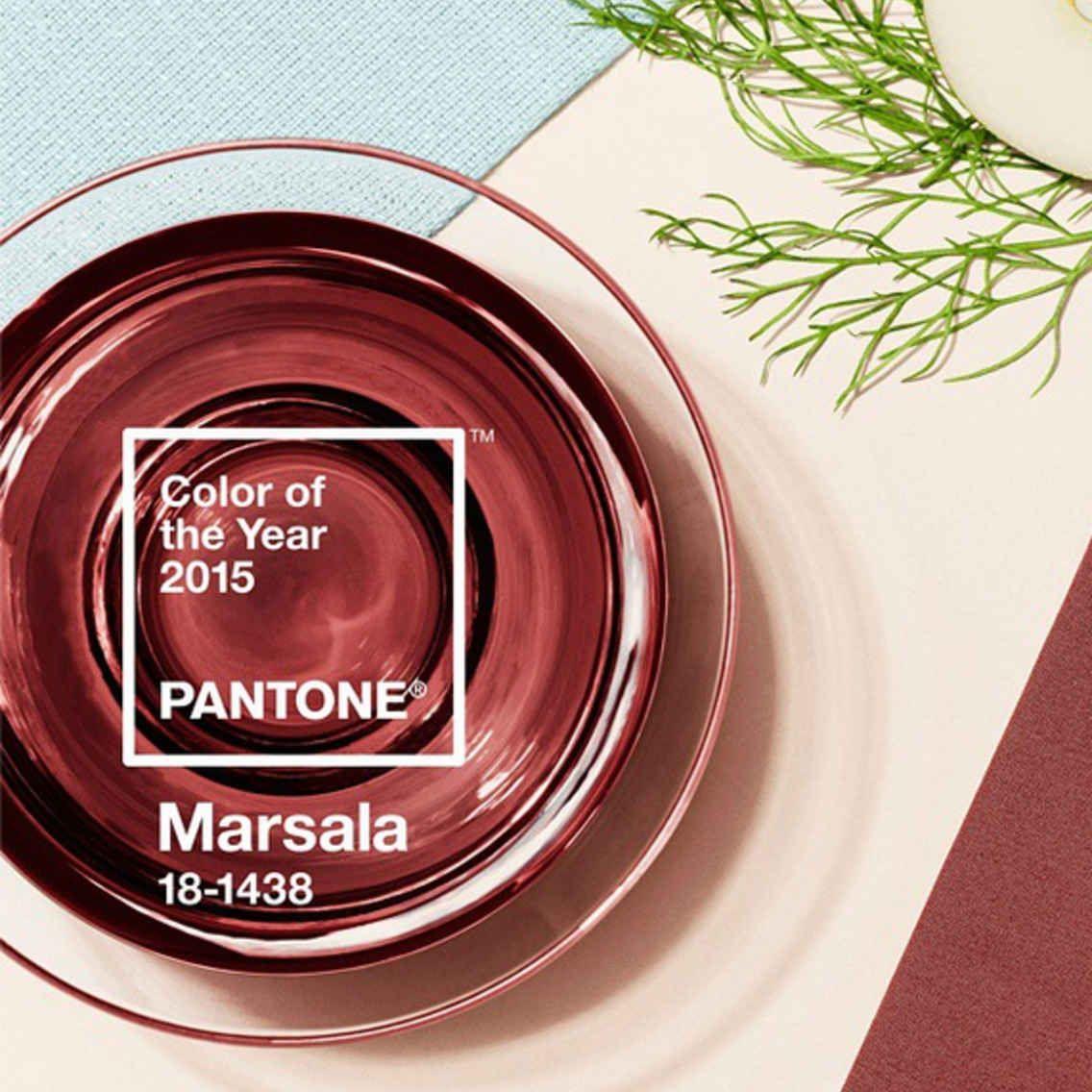 Pantone S 2015 Color Of The Year Is Marsala Marsala Color Pantone Pantone Marsala