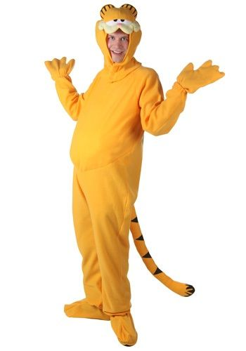 Mens Garfield Halloween Costume Garfield Costume Disney Characters Costumes Adults Garfield Halloween