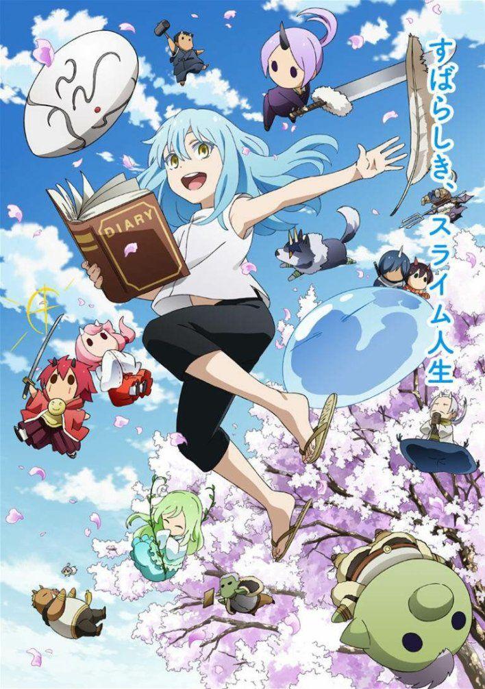 Tensura Nikki Tensei Shitara Slime Datta Ken Anime Slime Wallpaper Anime Wallpaper