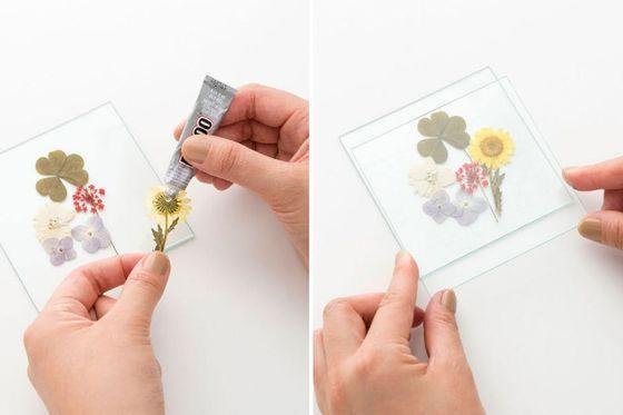 DIY jene hübschen Untersetzer anstatt Blumen zu Händen Mamma zu kaufen The pos…
