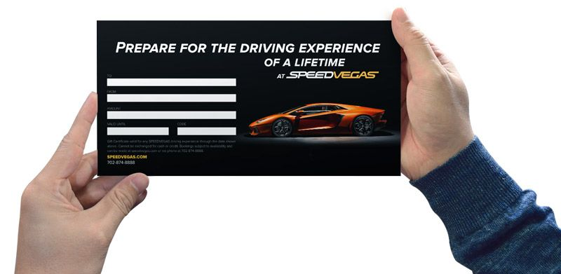 Racing gift cards from speedvegas are the best way to ring