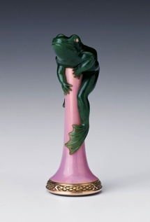 Something to croak about: a vintage Fabergé frog desk seal from 1903.