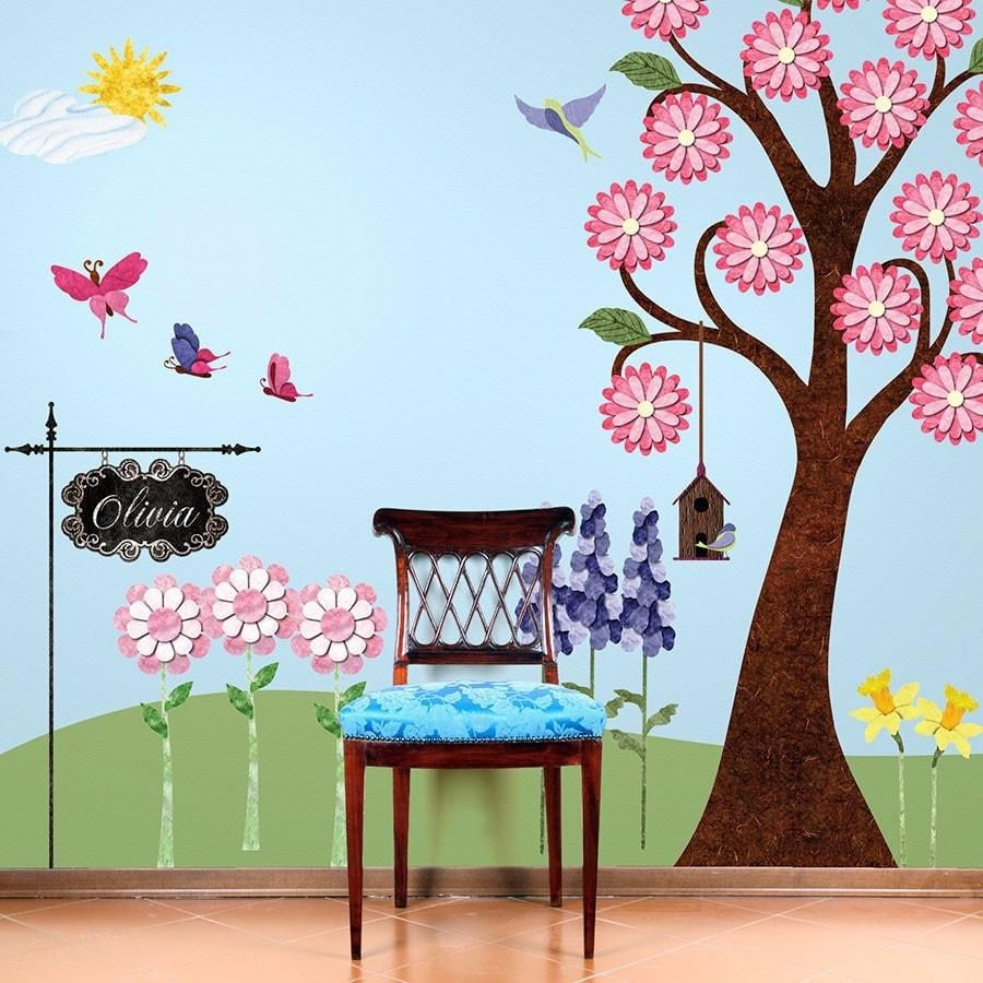 Wall painting stencils kids rooms  wall stencils for kids room  interior bedroom paint colors