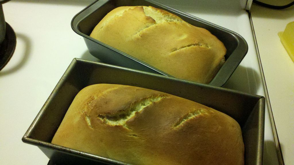 Homemade Bread Using a KitchenAid | Kitchenaid bread ...