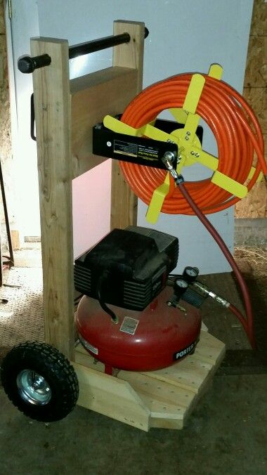 Compressor Cart My Projects In 2019 Garage