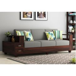 Outstanding Buy Solace Wooden Sofa 3 1 1 Set Online In India Wooden Pdpeps Interior Chair Design Pdpepsorg