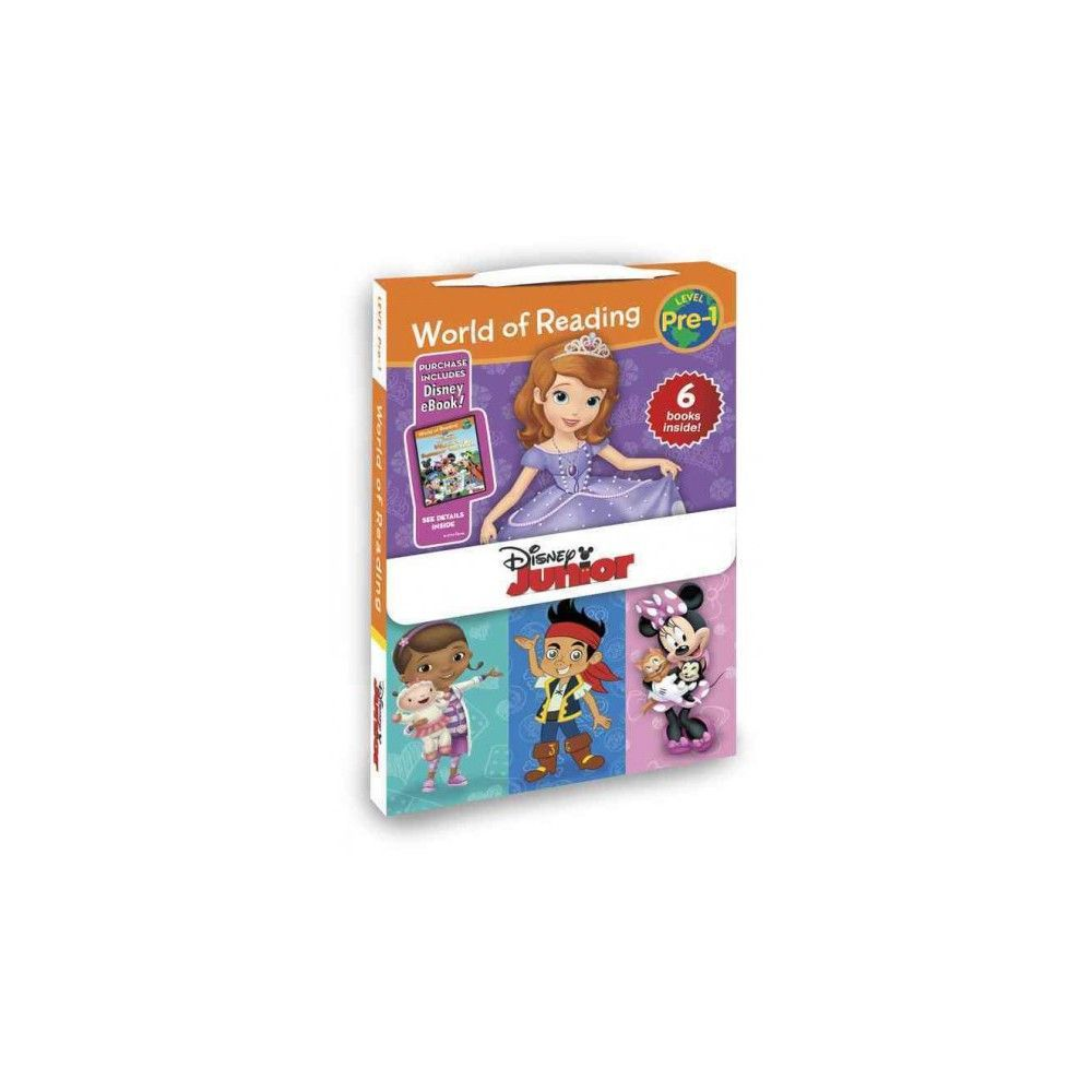 Disney Junior ( World of Reading, Level Pre-1: Disney Junior) (Mixed media product)