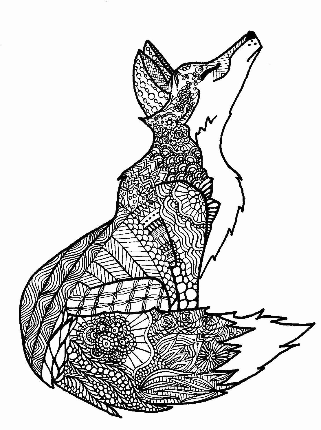 Zentangle Animal Coloring Pages Fresh Kearney Woman S Zentangle Coloring Book Stems From Her Zentangle Animals Animal Coloring Pages Blog Colors [ 1485 x 1109 Pixel ]