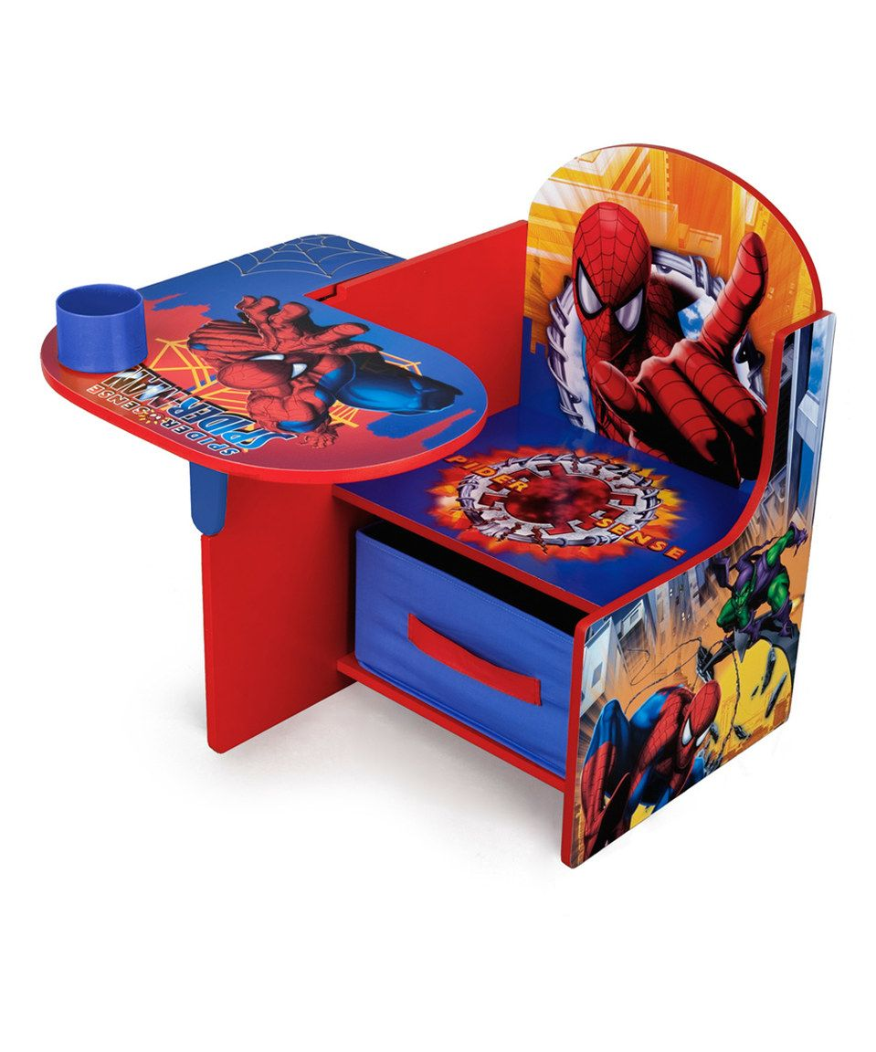 This SpiderMan Desk Chair by Marvel is perfect!