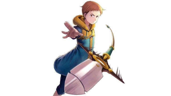 King Spear Weapon Nanatsu No Taizai Anime Wallpaper