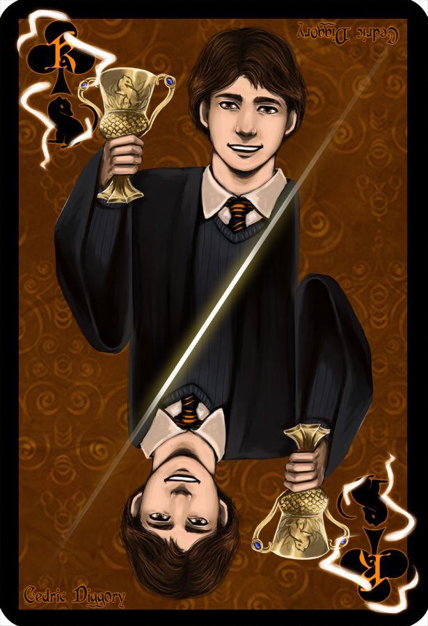 Cedric Diggory Carte Harry Potter Cedric Diggory Harry Potter Potter