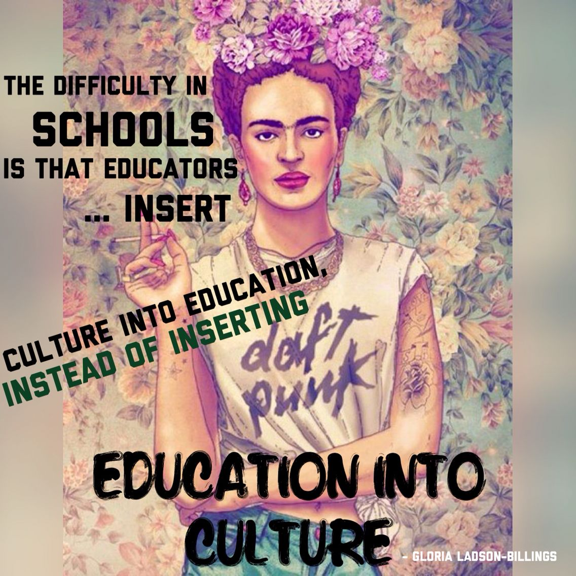 culture in education Multicultural and multilingual classrooms have become the norm in many educational (and professional) settings throughout the us due to changing immigration.