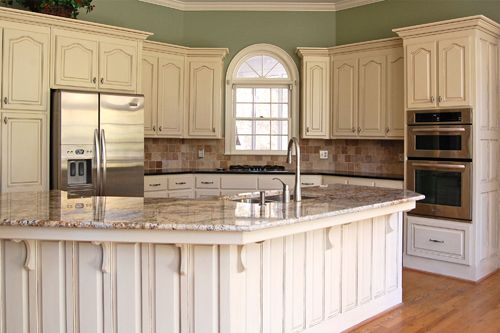 Chalk Paint On Kitchen Cabinets decorative painting, faux finishes, kitchen cabinet refinishing