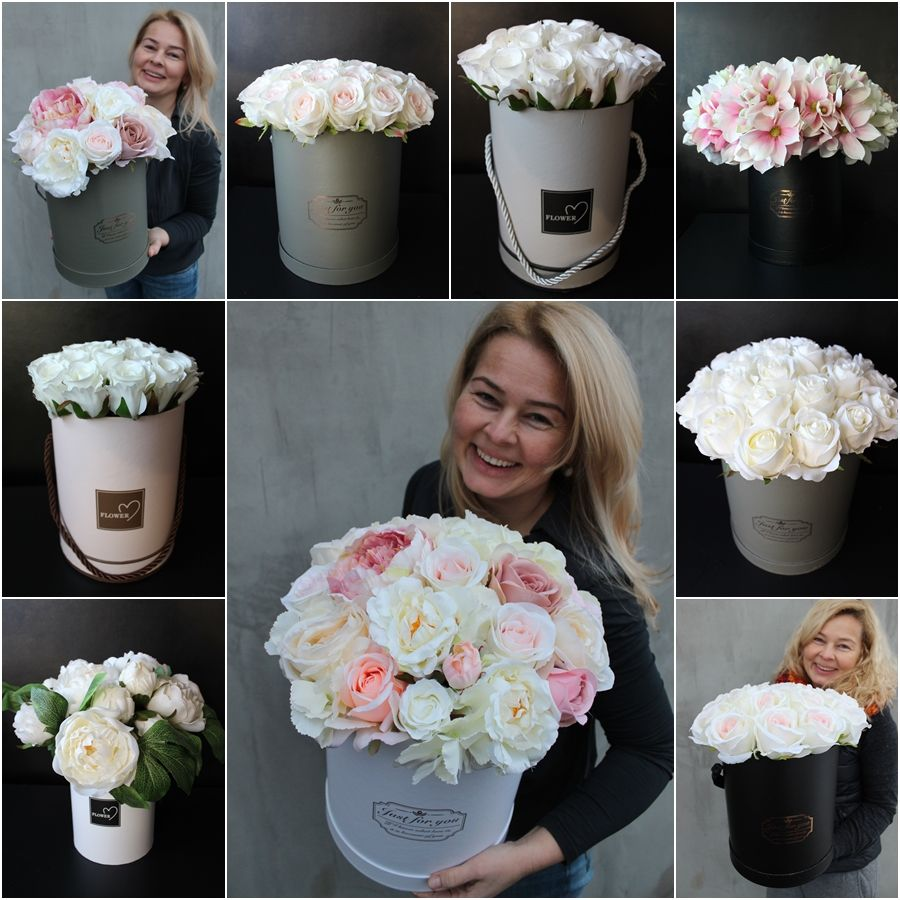 Flower Boxy Z Pracowni Tendom Pl Floral Arrangements Diy Flower Arrangements Floral Arrangements
