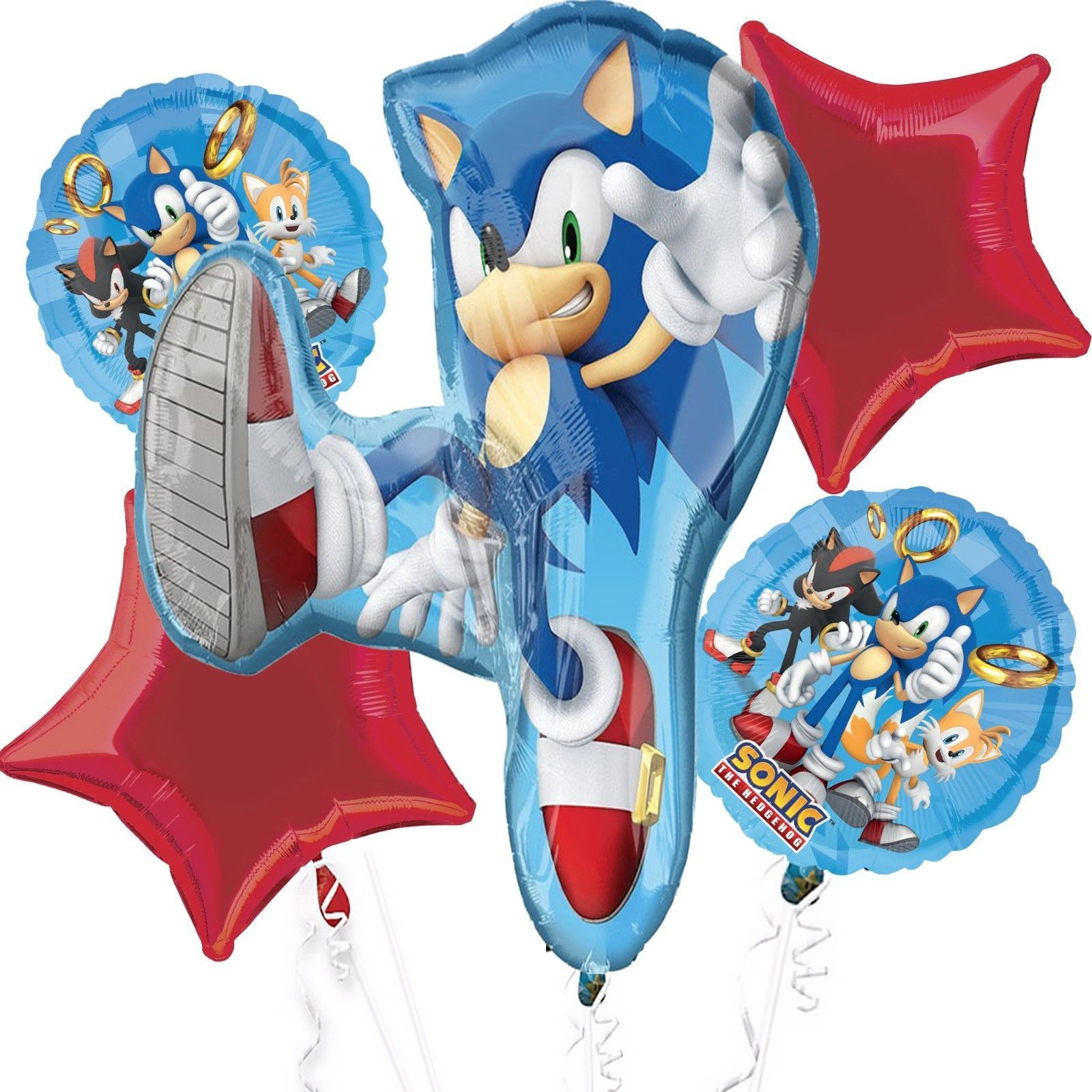 Mayflower Products Sonic The Hedgehog 6th Birthday Party Supplies 8 Guest
