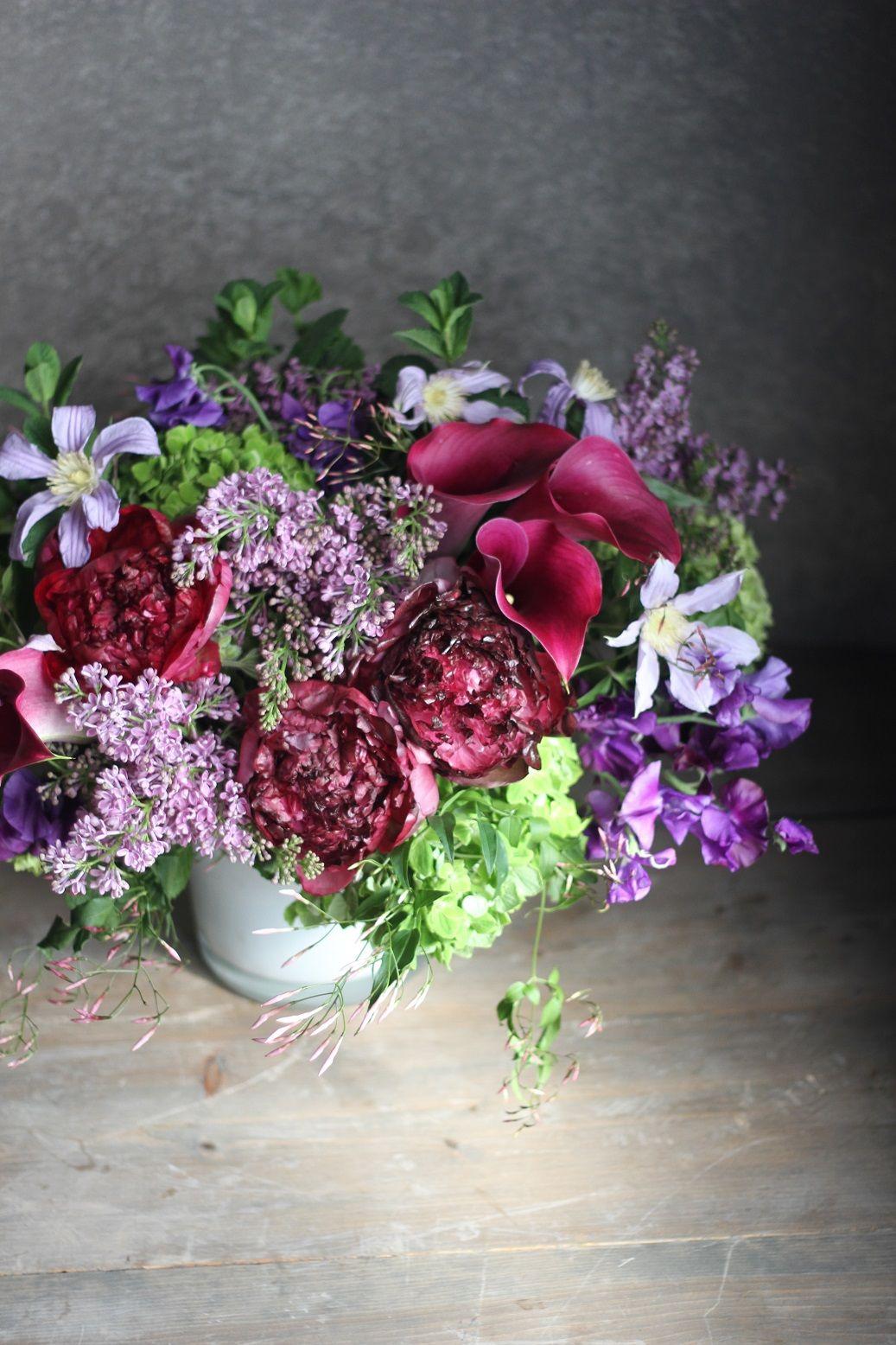 Deep Magentas Lavenders And Plums Heirloom Jewel By Winston