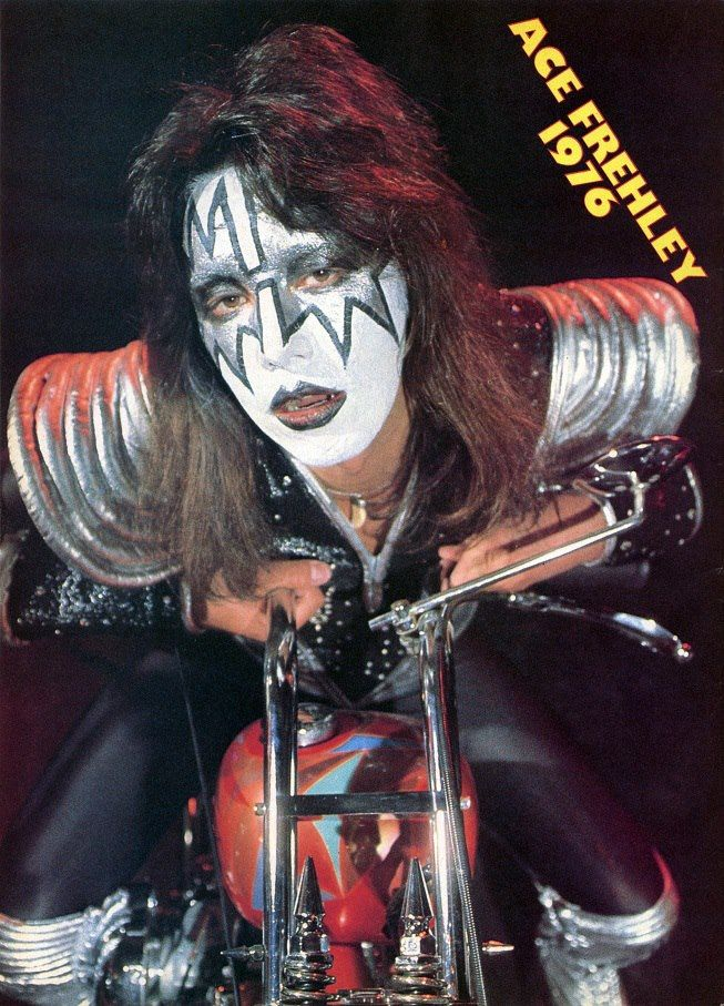 Classic Ace Poster Destroyer Chopper Seesion Ace Frehley Ace