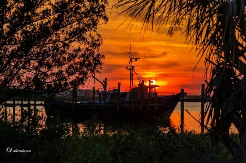 Sunset Amelia Island, Florida Paris island, Fernandina