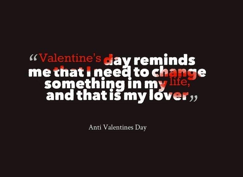 Valentine status for singles