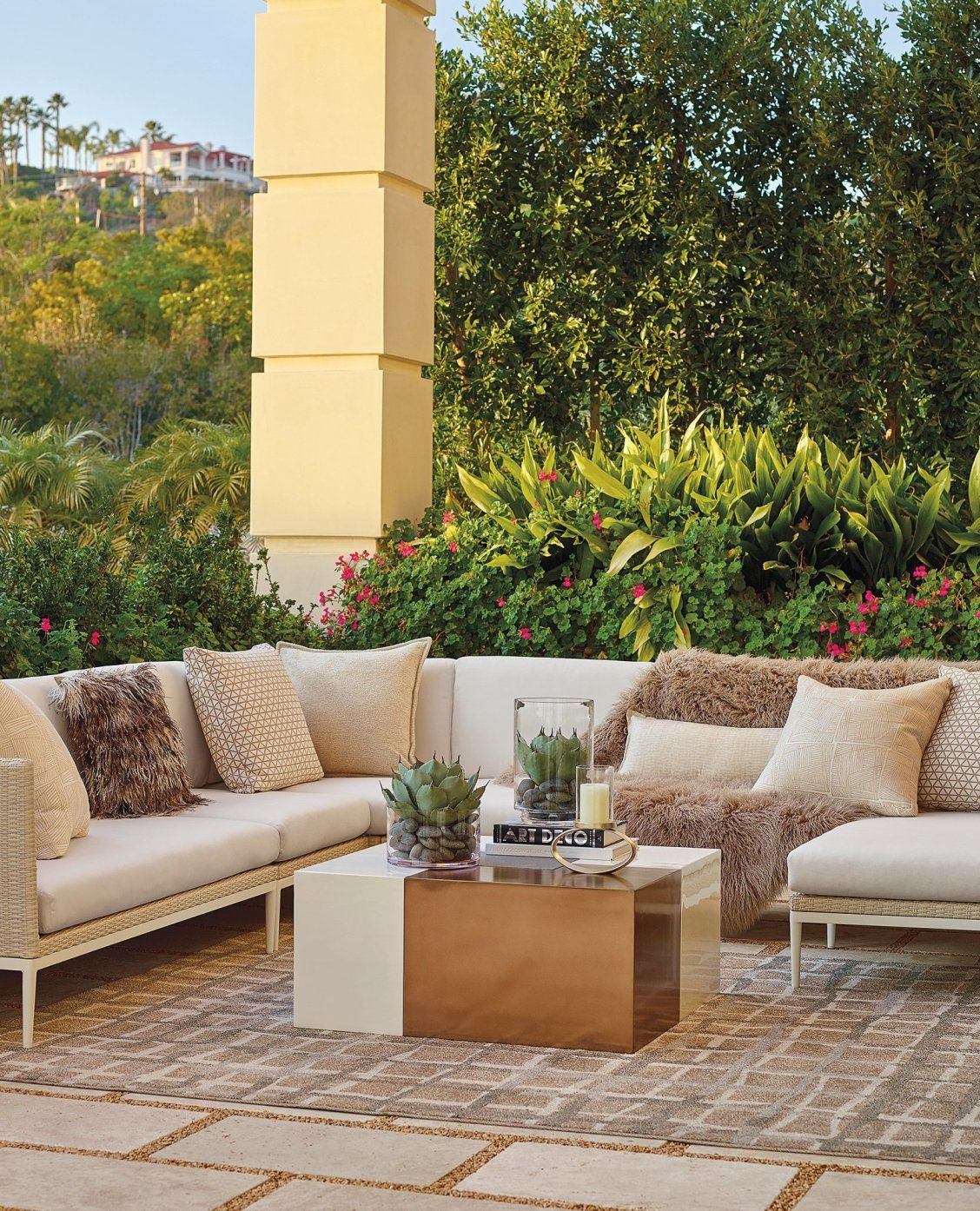 Palazzo Shell Modular Seating | Luxury outdoor furniture ... on Fine Living Patio Set id=98527