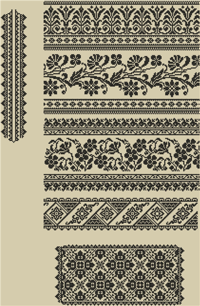 22e4efcb226cf4 Сорочка женская. Сокальска. Схема вышивки крестиком Вышивакнка женская Схема  вышивки крестиком. Дизайн машиной вышивки