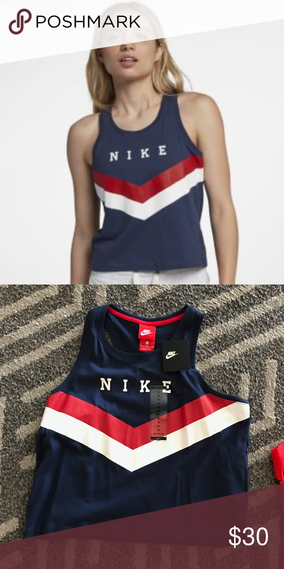 080cdb3cee39ff NWT Nike Americana Tank Top brand new with tags perfect for the upcoming  holidays! Nike