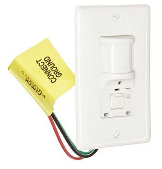 Hubbell Atp1277w Wall Switch Passive Infrared Pir Occupancy Sensor Ideal For Conference Rooms And Enclosed Ofiices Sensor Infrared Lights