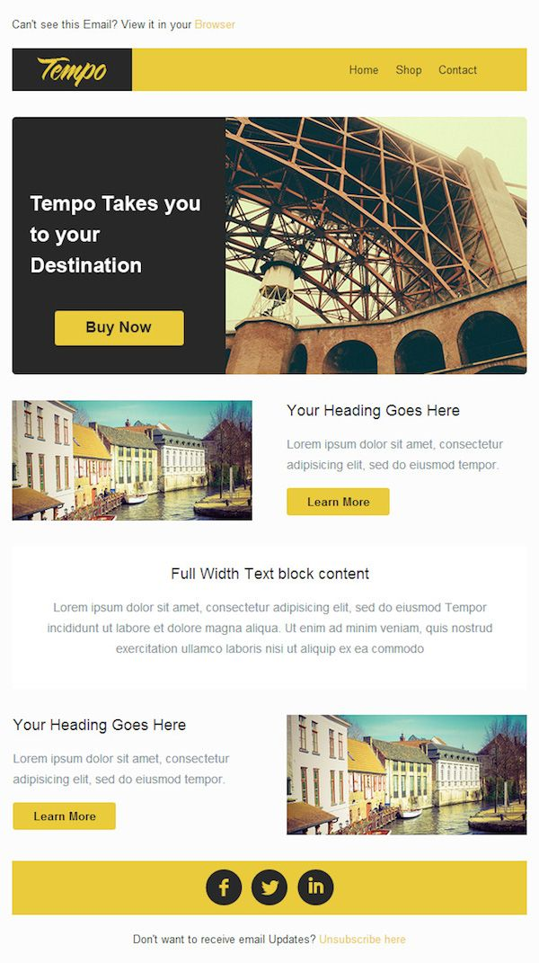 Latest Free Email Newsletter PSD Templates Worth Checking Out - free email newsletter templates word