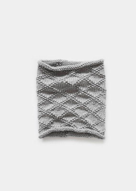 KNITTING PATTERN • Cowl Knitting Pattern • Scarf Knitting Pattern ...