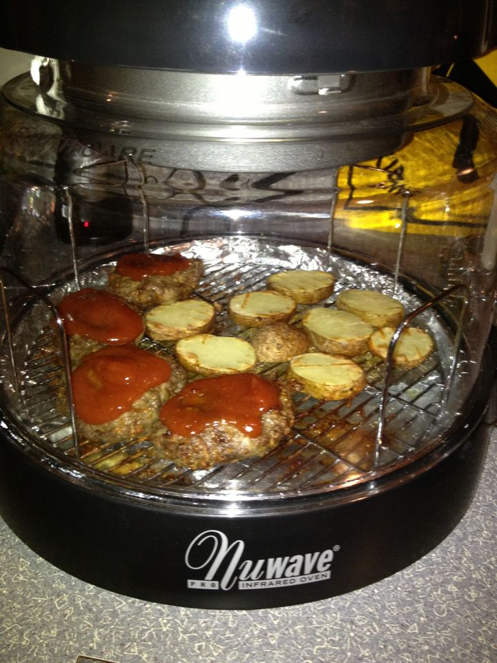 Emma M Made Meatloaf And Potatoes In Her Nuwave Pro Here Is Her Recipe Ingredients 1 Pound Ground Be Nuwave Oven Recipes Recipes Halogen Oven Recipes