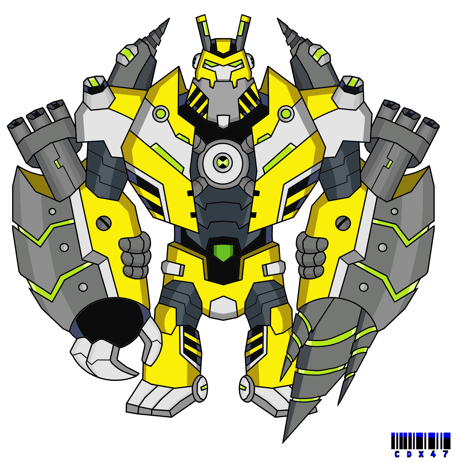 Omni Kix Armodrillo By Xxcodex47xx On Deviantart Fantasy Creatures Art Ben 10 Ben 10 Alien Force