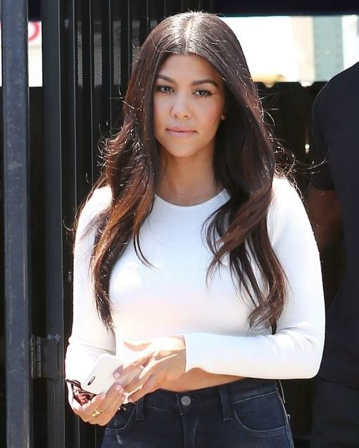 Kourtney Kardashian is spotted in Los Angeles for the first time since the flirting pictures of her partner Scott Disick were released.